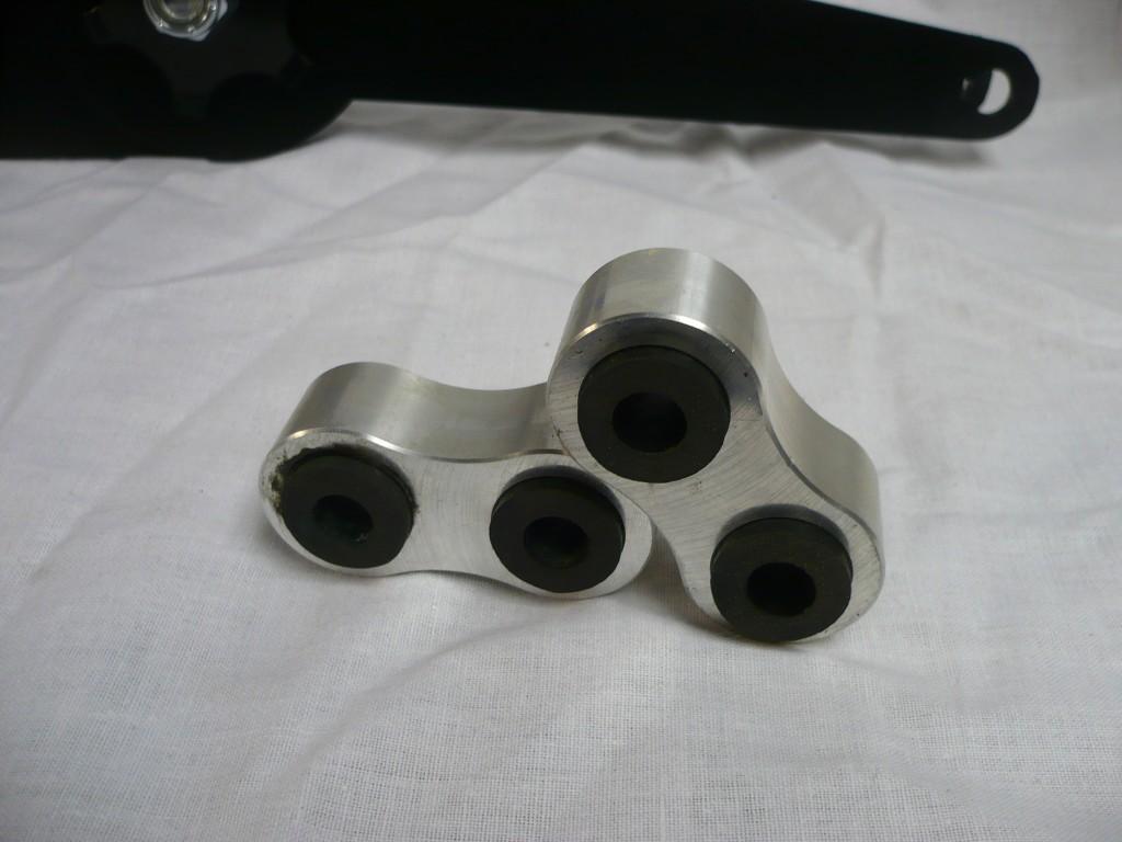 Aluminium Short Front Links for Austin Seven