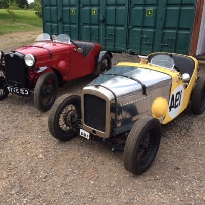 Two Austin Sevens built and maintained by Oxfordshire Sevens