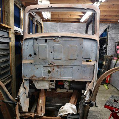 Austin Pearl undergoing restoration